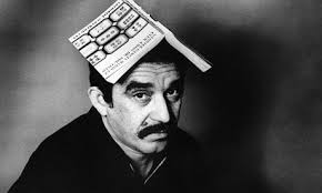marquez with book